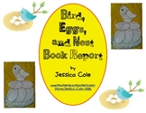 Bird, Eggs, and Nest Book Report