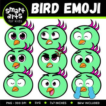 Bird Emoji Clip Art