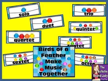 Bird Ensembles Solo, Duet, Trio, etc...Bulletin Board