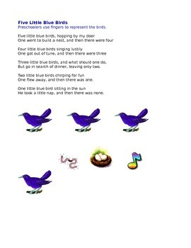 Bird Finger Play