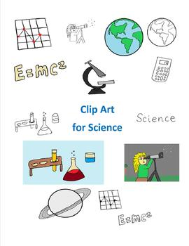 Clip Art for Science for Personal and Commercial Use