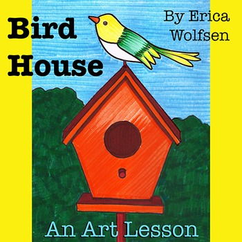 Bird House Drawing