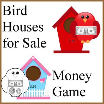 Bird Houses for Sale- Money Math Game