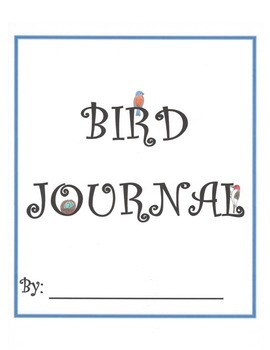 Bird Journal 2nd-5th (aligned with Common Core Standards)