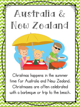 Christmas Around The World Activities