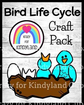 Spring, Summer Weather: Bird Life Cycle Craft