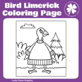 Bird Limerick Coloring Page