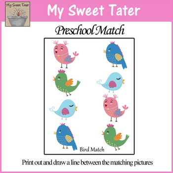 Bird Match Sheet