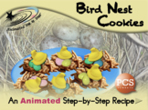 Bird Nest Cookies - Animated Step-by-Step Recipe - PCS