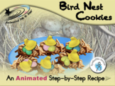 Bird Nest Cookies - Animated Step-by-Step Recipe - SymbolStix