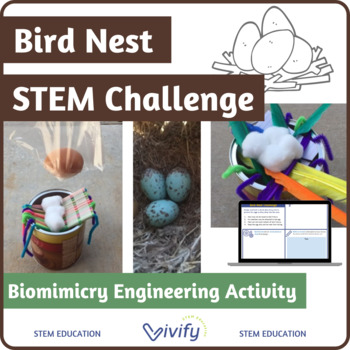 Bird Nest STEM Challenge (Biomimicry Engineering Activity)