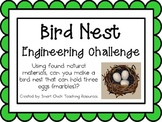Bird Nests: Engineering Challenge Project ~ Great STEM Activity!
