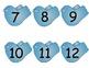 Bird Number Cards/Calendar Cards