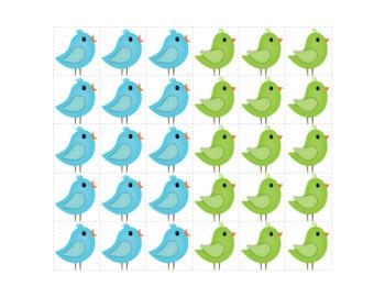 Bird Pattern Activity - Interactive Patterning Activities for Kids