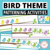 Bird Pattern Activity - Interactive Patterning Activities
