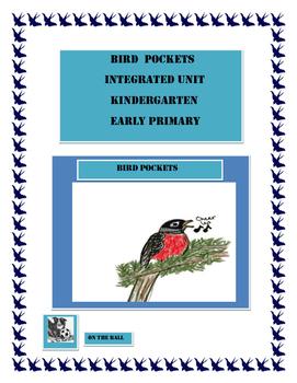 Bird Pockets. Integrated Unit. Primary, Kindergarten.