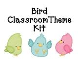 Bird & Polka Dot Classroom Theme Kit