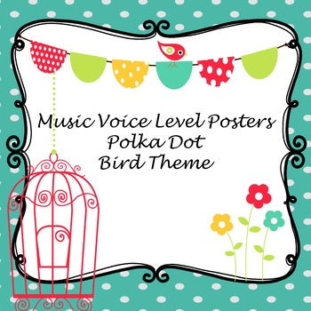 Bird Polka Dots Music Dynamic Levels