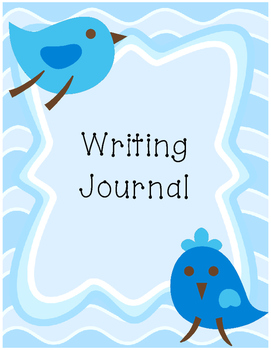 Bird Primary Writing Journal