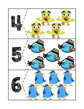 Bird Quantity Puzzles