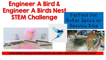 Bird STEM Activities- Adaptations, Biomes, Engineering and More! 1st-8th Grades