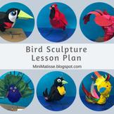 Bird Sculpture Lesson Plan