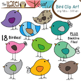 Bird Set: Clip Art Graphics for Teachers