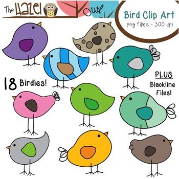 Bird Set: Clip Art Graphics for Teachers