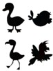 Bird Shadow Puppets with Bird Songs and Bird Sounds, Music and Movement
