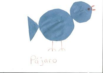 Bird Shapes/ Spanish(Pájaro)