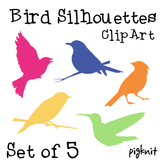 Bird Silhouette Clip Art | Cardinal Clip Art, Bird Watching Download