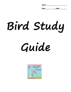 Bird Study Guide