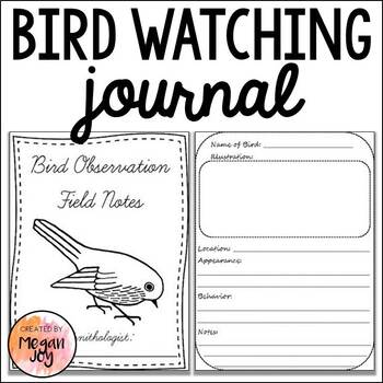 Bird Study Journal