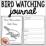 Bird Watching Observation Journal