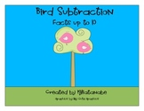 Bird Subtraction Math Center