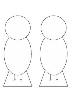 Bird Template - DIY Wings