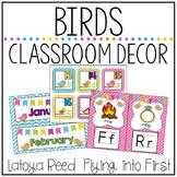 Birds Classroom Decor