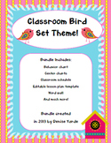 Bird Theme Classroom Decor Set
