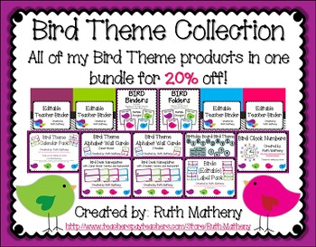 Bird Theme Collection {20% off!}