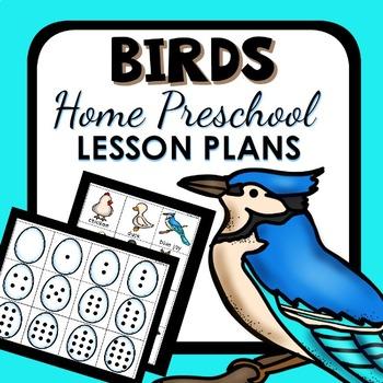 Bird Theme Home Preschool Lesson Plans