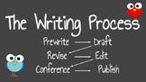Bird Theme Writing Process Posters