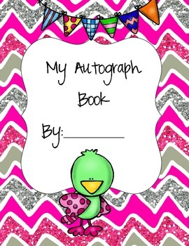 Bird Themed Autograph Book