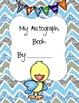 Bird Themed Autograph Book