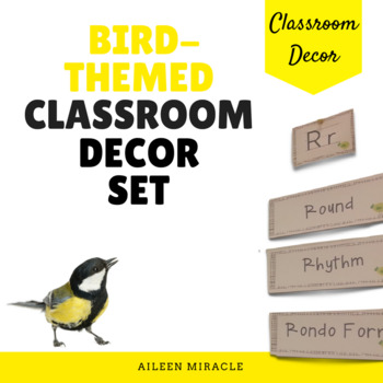 Bird-Themed Classroom Set
