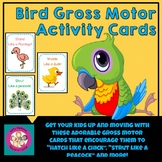 Bird Themed Gross Motor Activity Cards