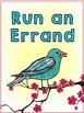 Bird Themed Incentive Awards: Watercolor Bird Decor (Brag Tags too!)
