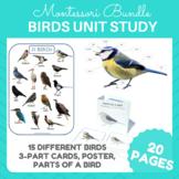 Birds Unit Study Bundle #montessorilove