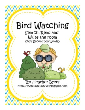 Bird Watching {Search/Read/Write the Room} Fry's Second 100 Words