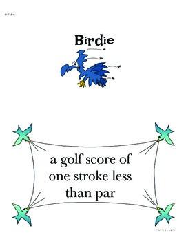 Bird Wording Idioms Game
