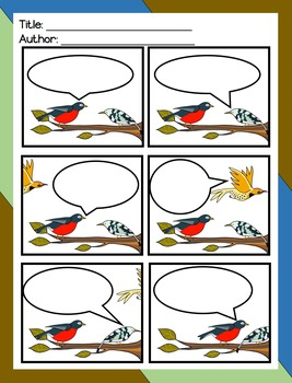Bird Writing: Comic Strips